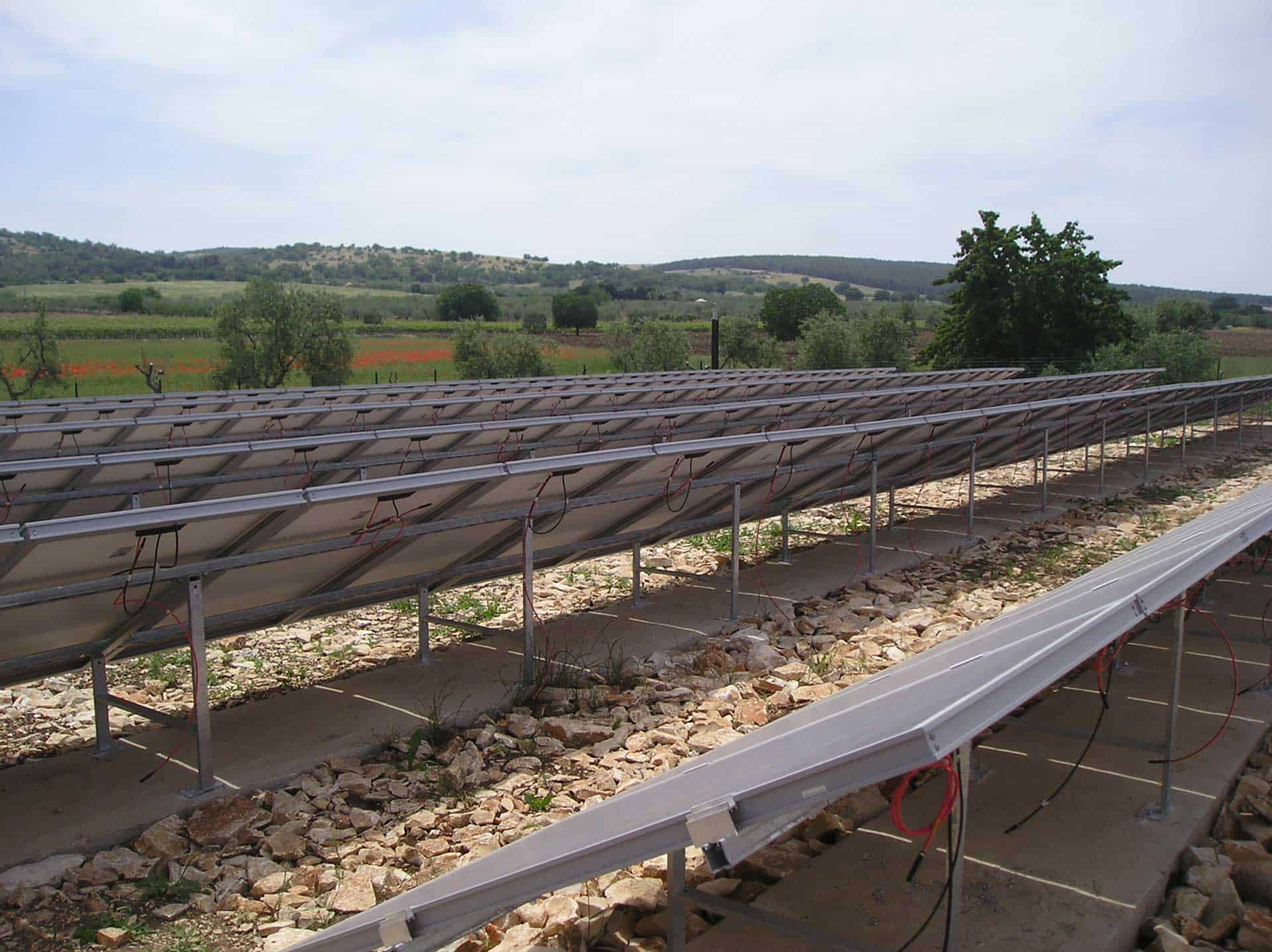 Impianto fotovoltaico agriturismo san magno corato