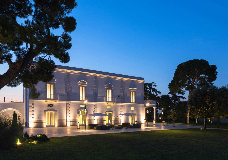 Impianto ed illuminazione Sala ricevimenti Palazzo Arnieci strada provinciale 231 km. 52 Andria