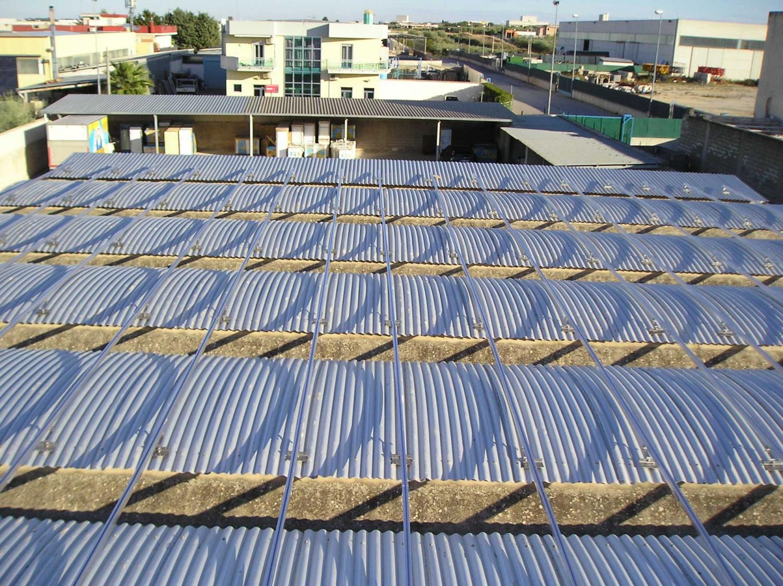 Struttura impianto fotovoltaico gel cor corato electromanagement