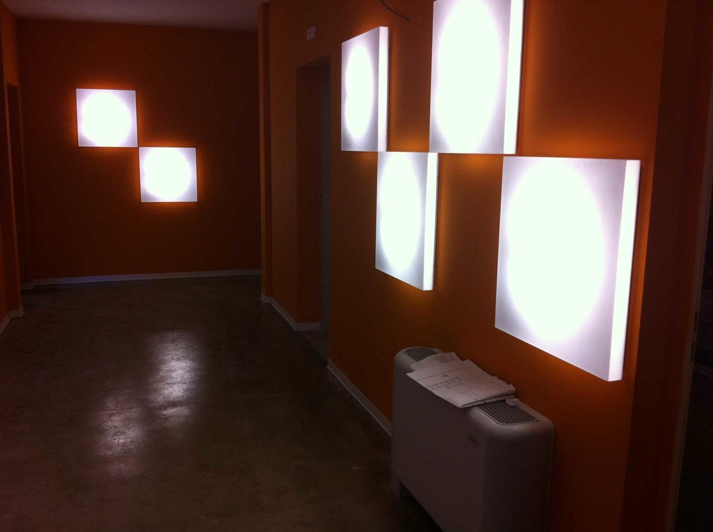 Impianto illuminazione interno Cittadella degli Artisti Molfetta