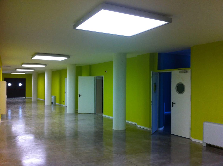 Impianto illuminazione Cittadella degli Artisti Molfetta