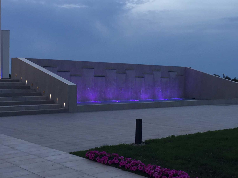 Impianto illuminazione esterno Relais Sant'Agostino ad Andria