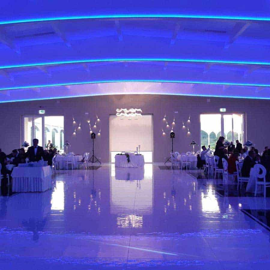 Impianto illuminazione interna Relais Sant'Agostino Andria