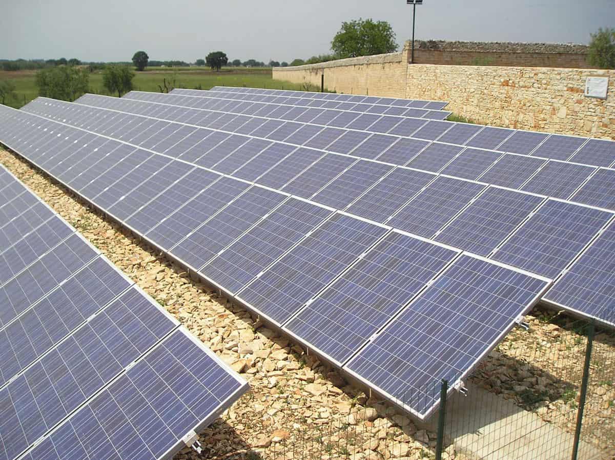 Impianto fotovoltaico completo agriturismo san magno corato